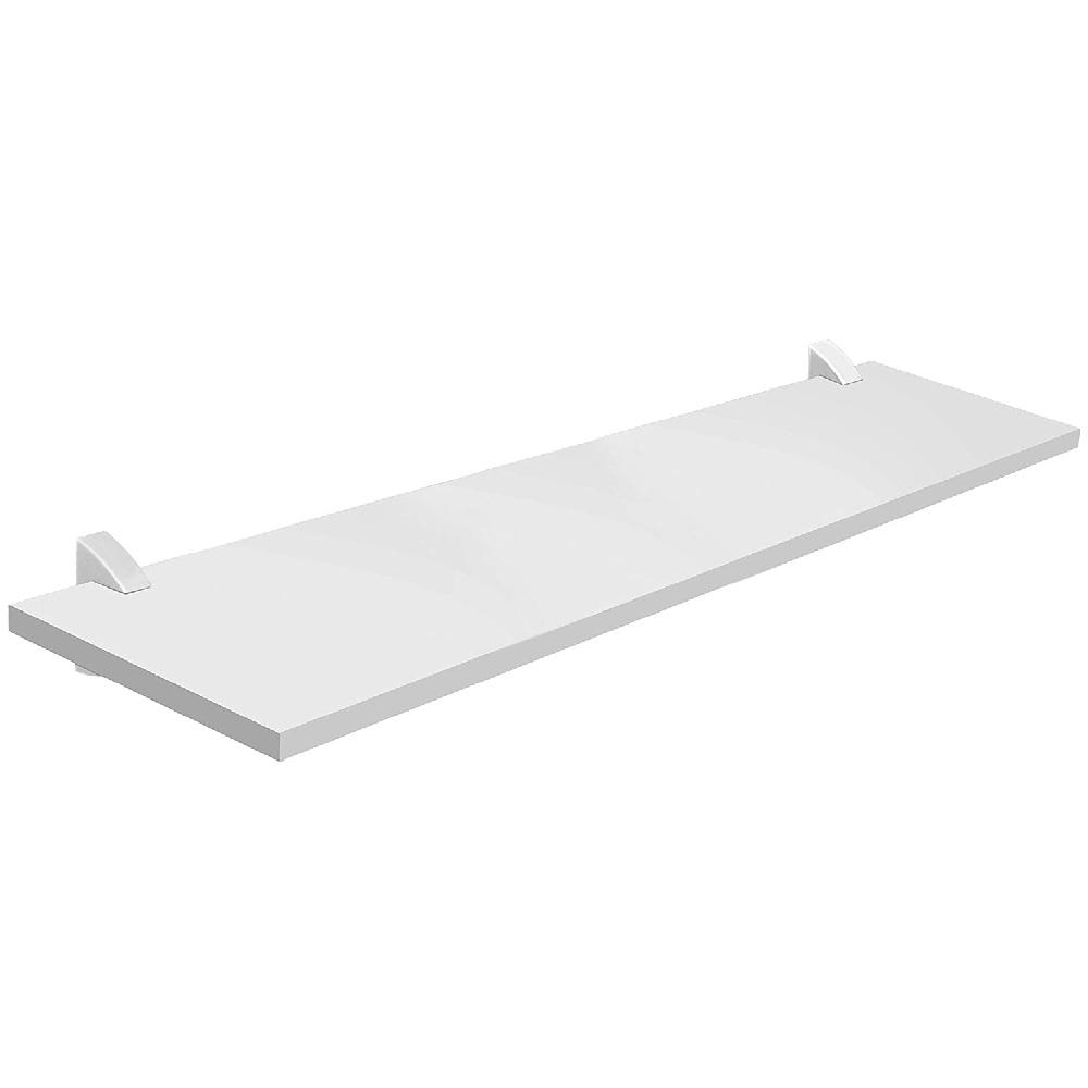 Prateleira Concept Branca 25x100cm com Suporte PratK 8850 080