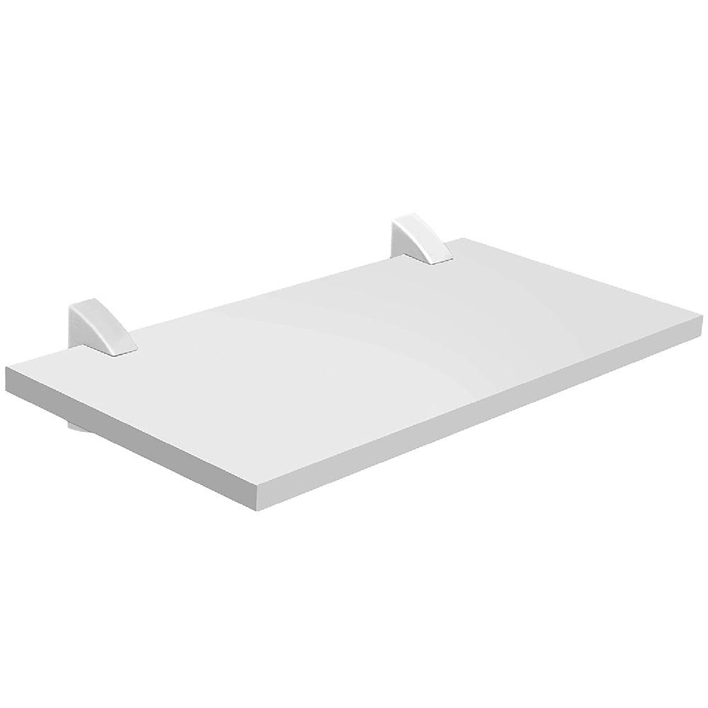 Prateleira Concept Branca 25x40cm com Suporte PratK 8850 050