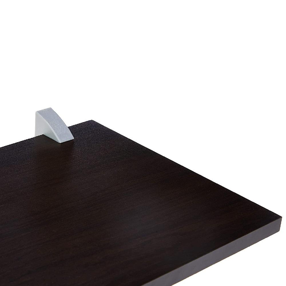 Prateleira Concept Tabaco 25x100cm com Suporte PratK 8852 080