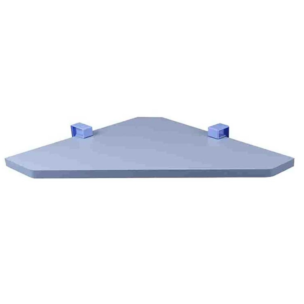 Prateleira KIDS de Canto com Suporte 35x35cm Azul PratK 8008 095