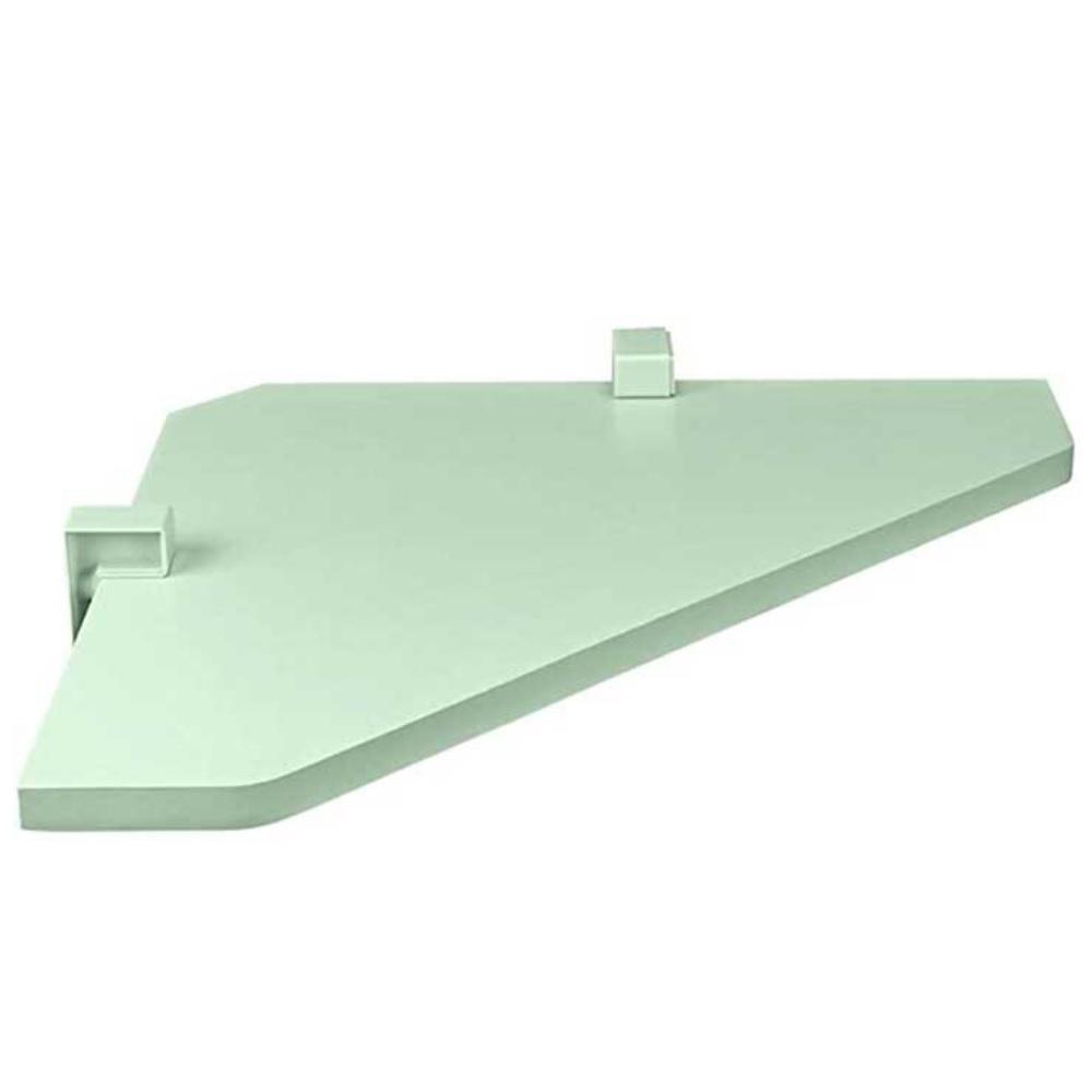 Prateleira KIDS de Canto com Suporte 35x35cm Verde PratK 8006 095