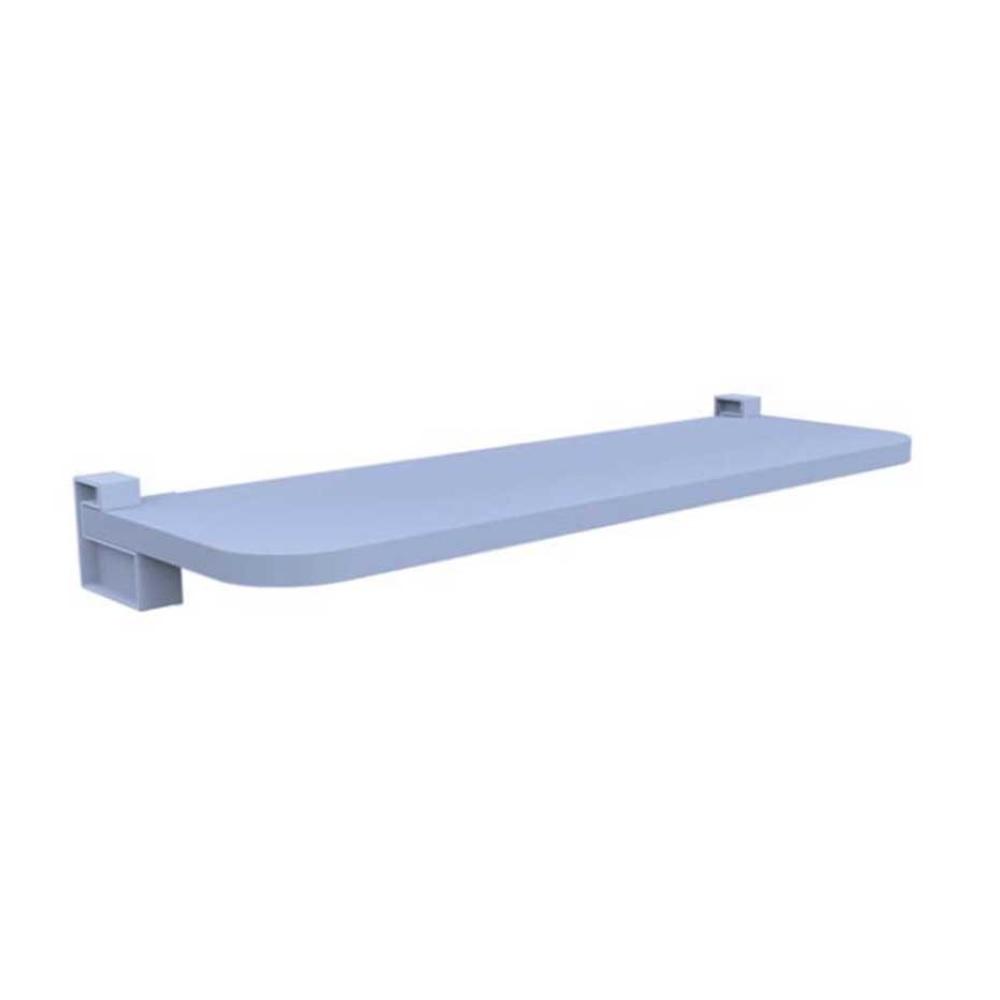 Prateleira KIDS Reta com Suporte 60x25cm Azul PratK 8008 035