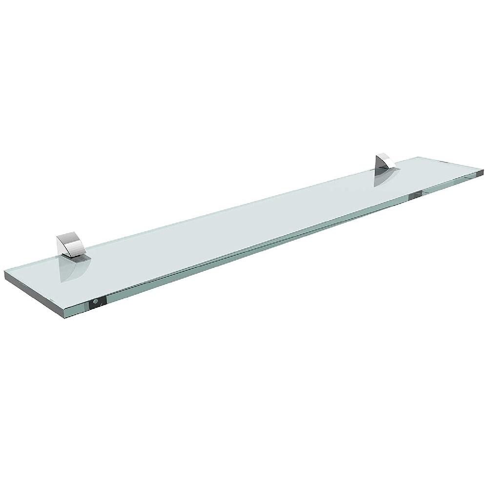 Prateleira Reta de Vidro com Suporte 10x60cm PratK 08617 002
