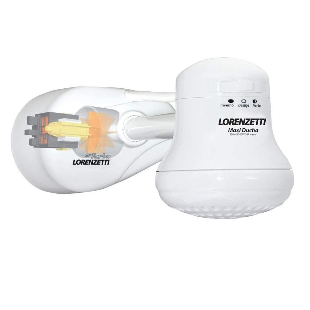 Pressurizador para Chuveiro Maxi Turbo 220V Lorenzetti 7541005