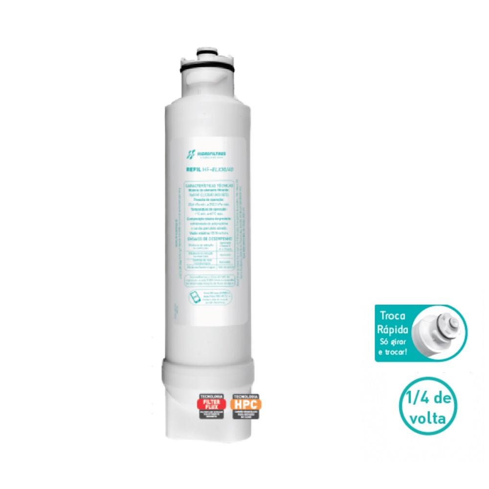 Refil HFELX 30 40 para Purificadores Electrolux Hidrofiltros
