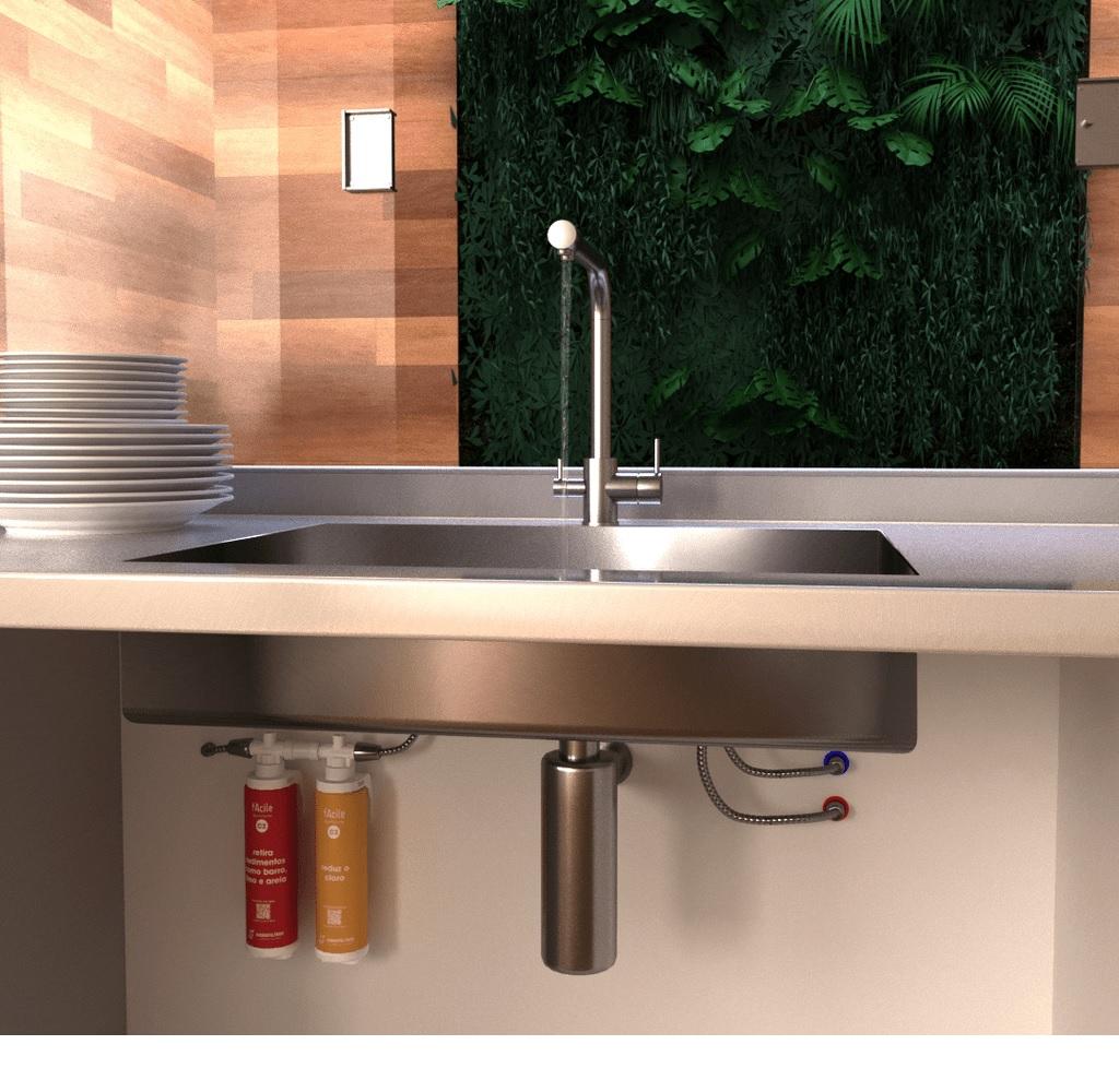 Refil Purificador de Agua Facile C2  Hidrofiltros 903 0551