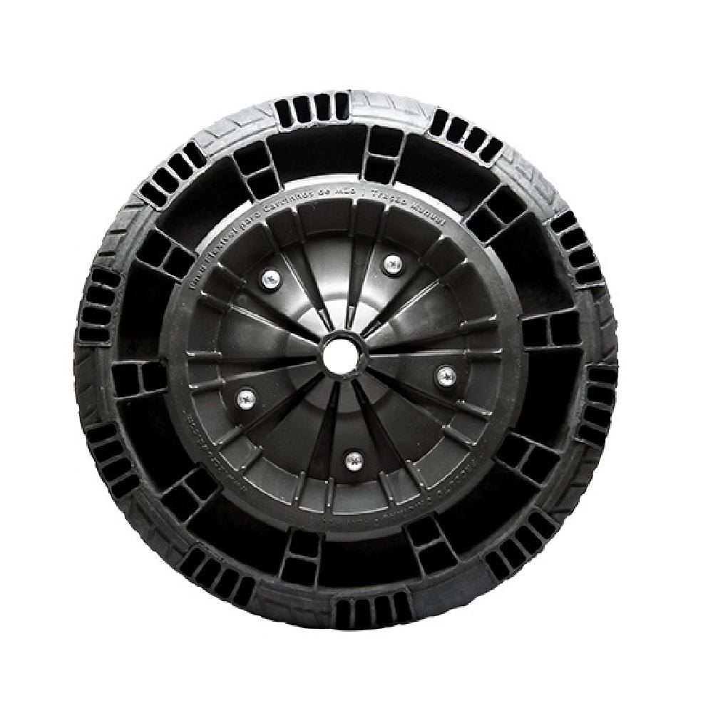 Roda Pneu Macico Furo de 1Pol Flex Border Mahil