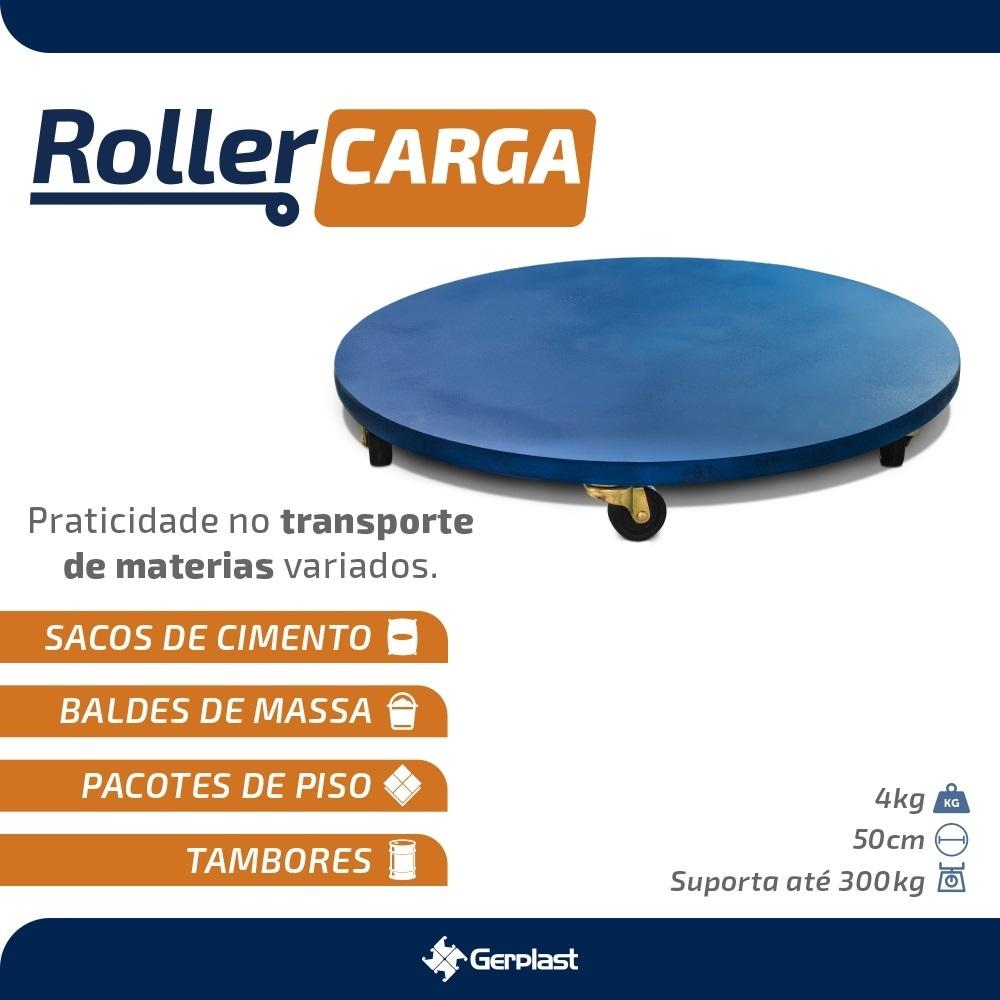 Roller para Carga 300Kg Gerplast
