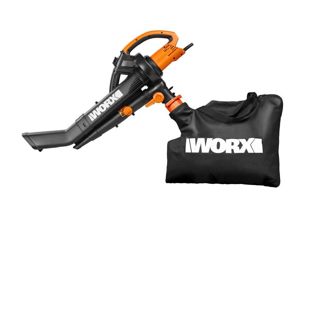 Soprador Aspirador Triturador 1500W 220V Worx WG505E