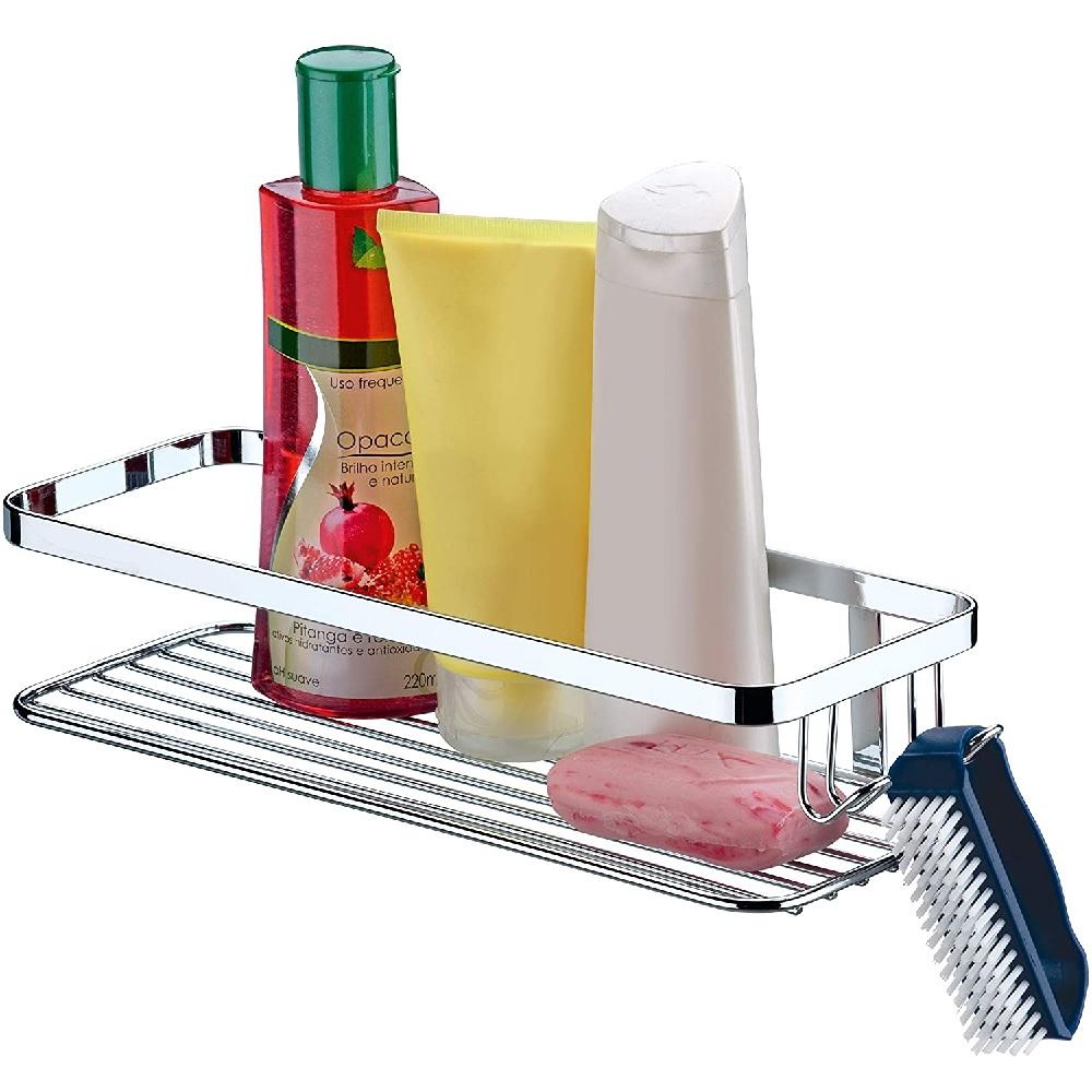 Suporte para Shampoo com Ganchos Future 1101