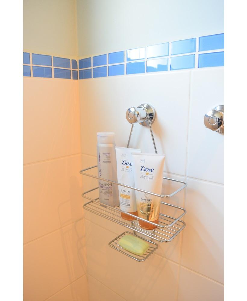 Suporte para Shampoo Sabonete de Registro com Gancho Movel Future 997