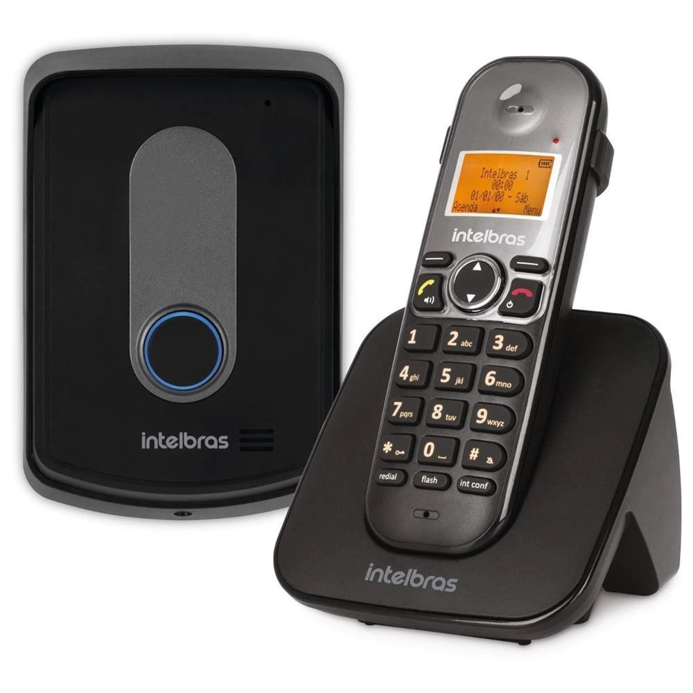 Telefone sem fio com Ramal Externo TIS 5010 Intelbras 4521102