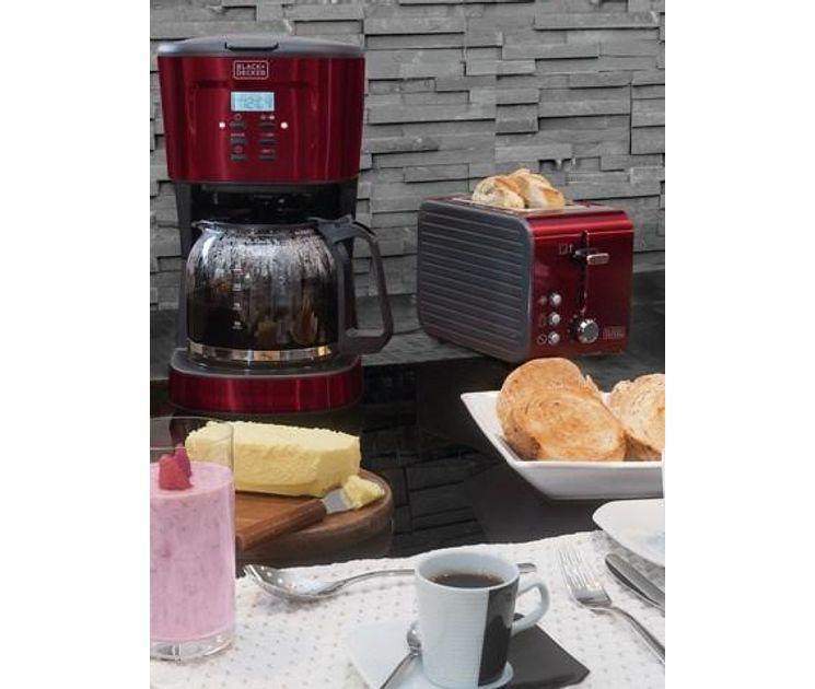 Torradeira 7 temperaturas 850W 220V Vermelho Black&Decker Gift T850V