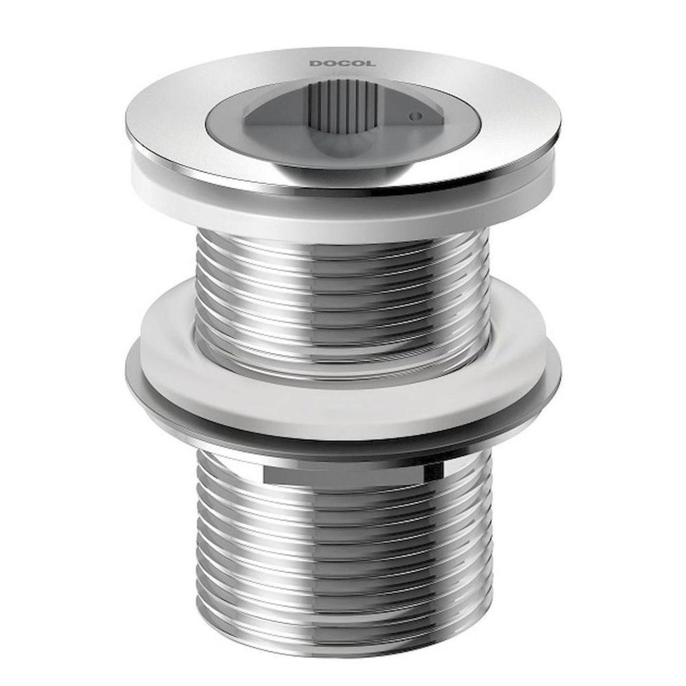 Valvula de Escoamento para Tanque sem Ladrao 1 1/2 Cromado Docol 00988106