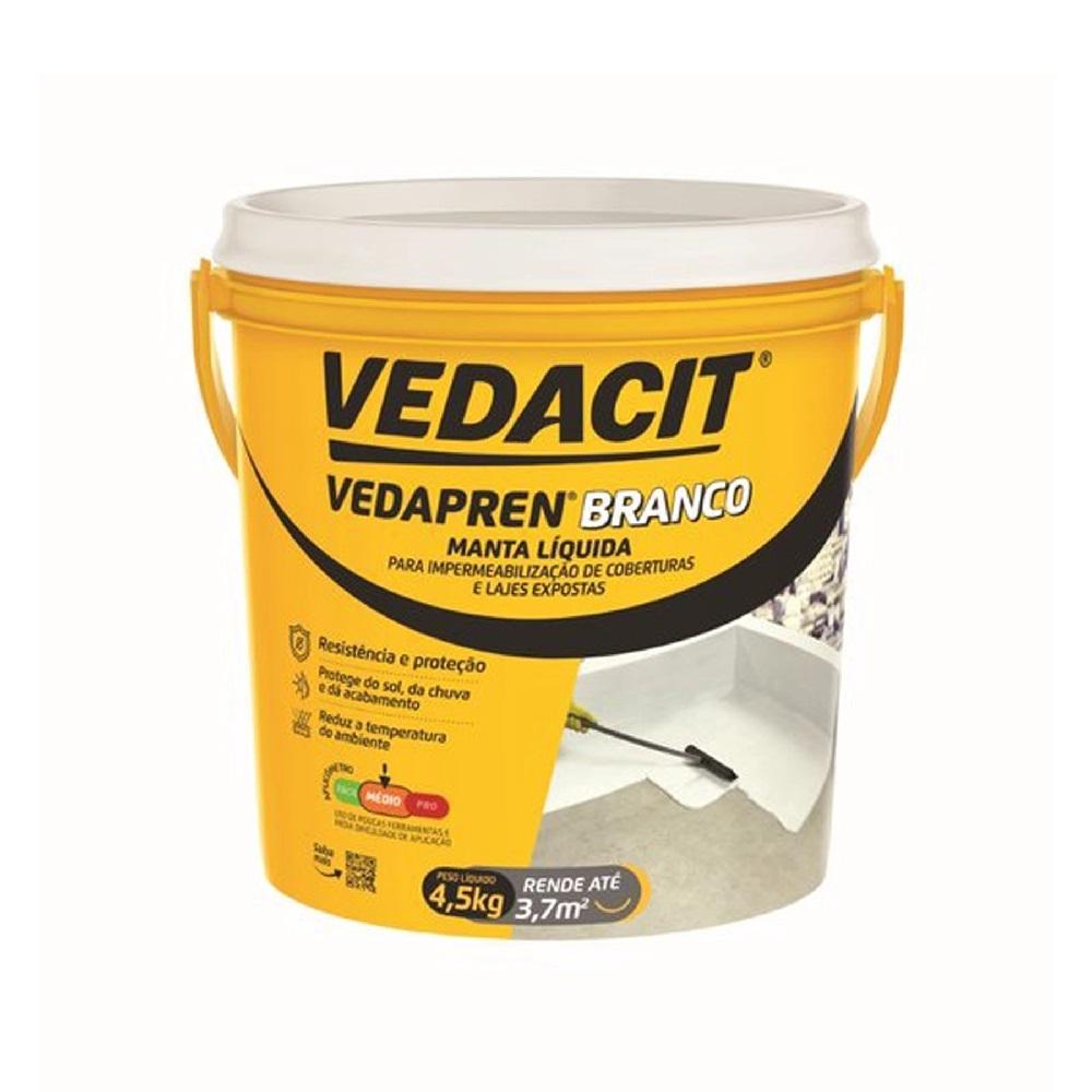 Vedacit Vedapren Branco 4,5Kg
