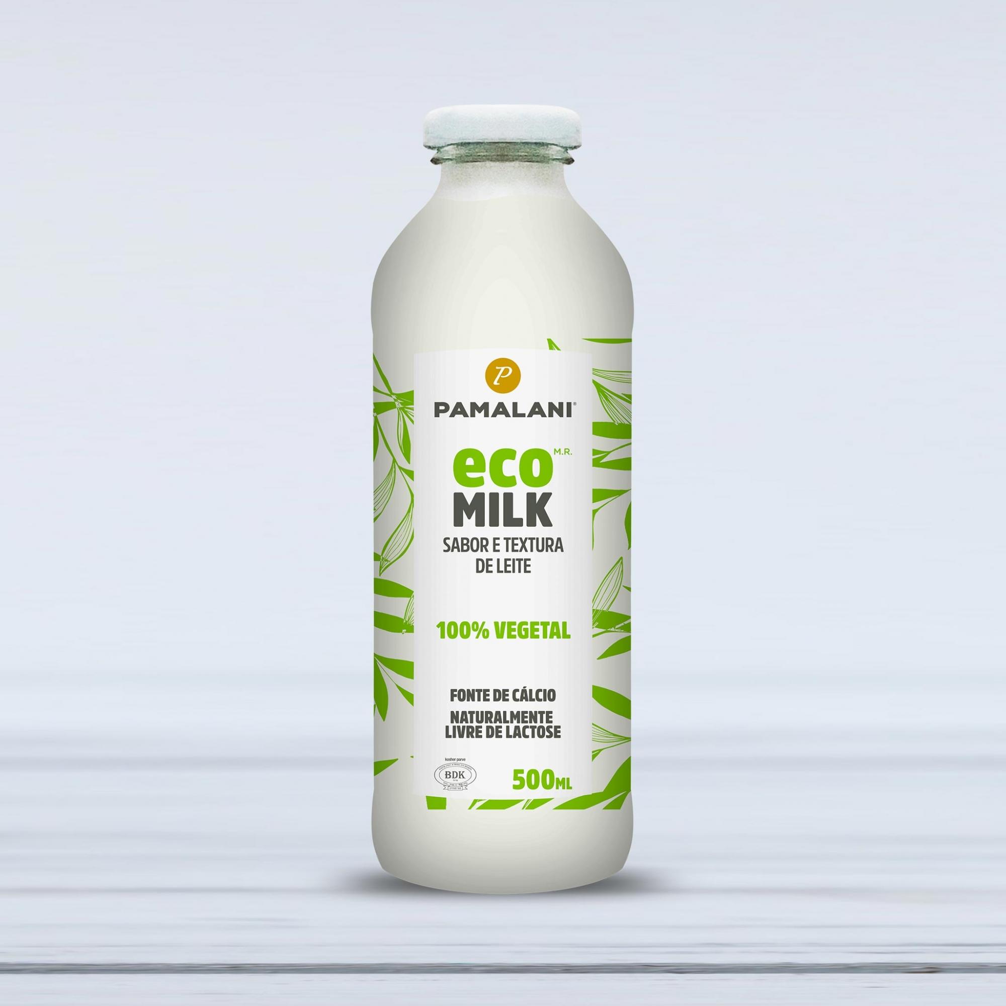 Eco Milk Sabor e Textura de Leite 100% vegetal 500ml