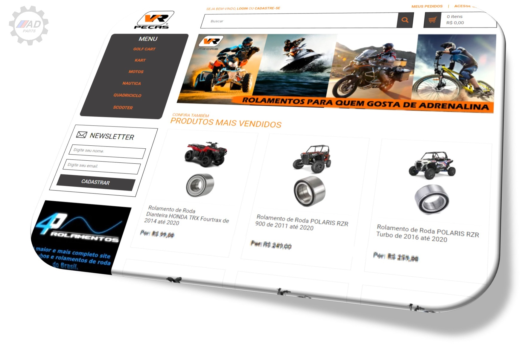 Desenvolvimento de Lojas Online