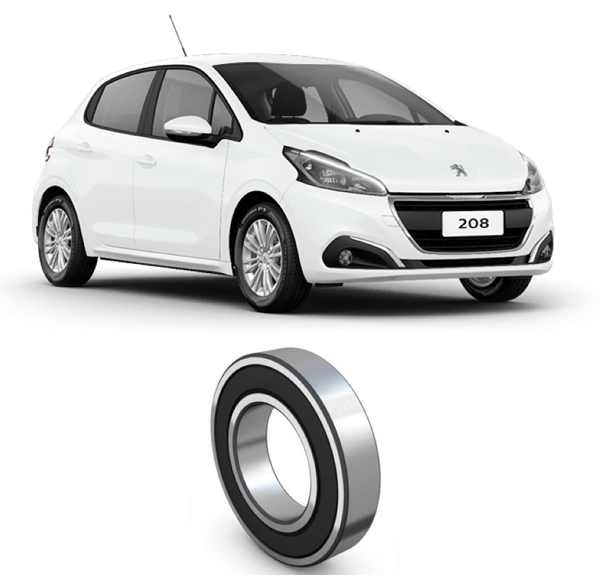 Rolamento Semi Eixo Peugeot 208 de 2013 até 2020