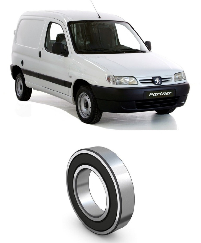 Rolamento Semi Eixo Peugeot Partner 1996 até 2013