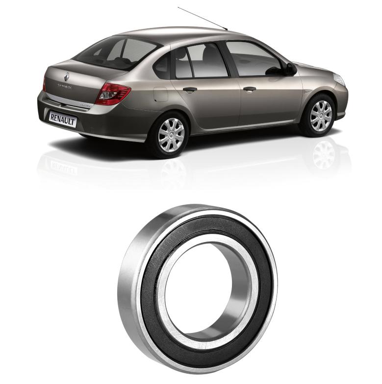 Rolamento Semi Eixo Renault Symbol de 2009 até 2012