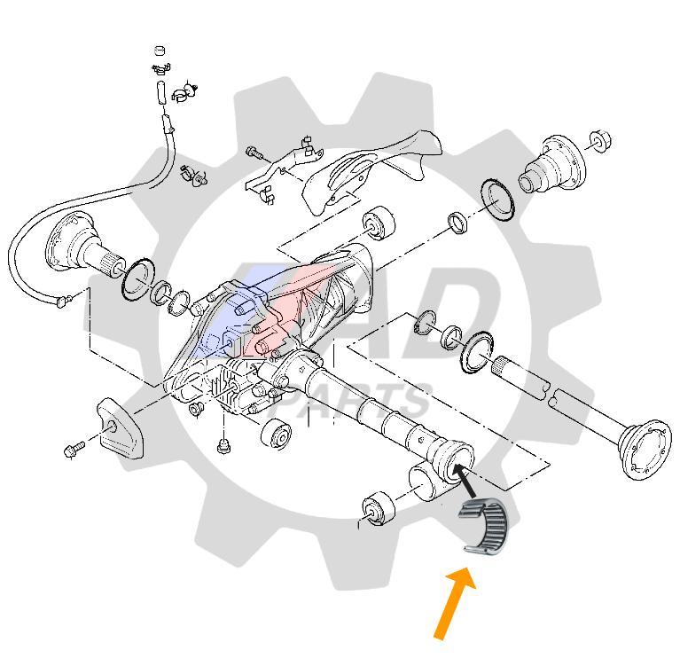 Rolamento Semi Eixo VW Amarok 2010 ate 2020