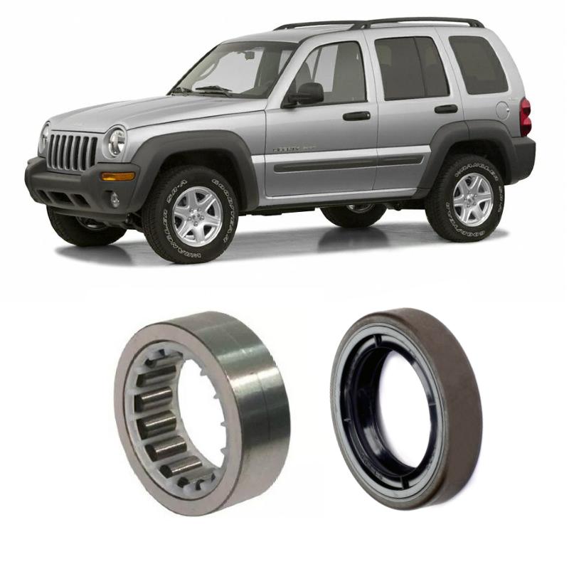 Rolamentos de roda traseira Jeep Cherokee Sport de 2002 até 2007