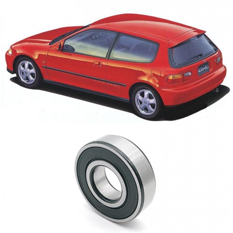 Rolamentos Eixo Piloto Honda Civic (1.6L Vtec) 1990 até 2000