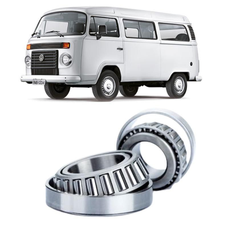 Rolamentos Roda Dianteira VW Kombi 1967 até 2014