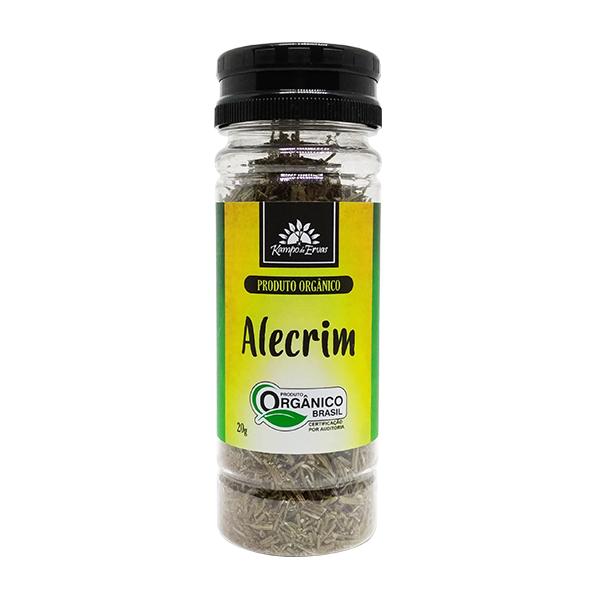 Alecrim orgânico tempero 20g