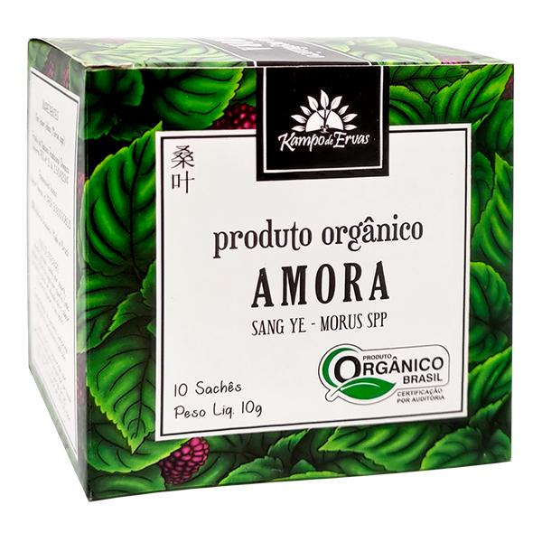 Amora orgânica sachê (10 unid.)