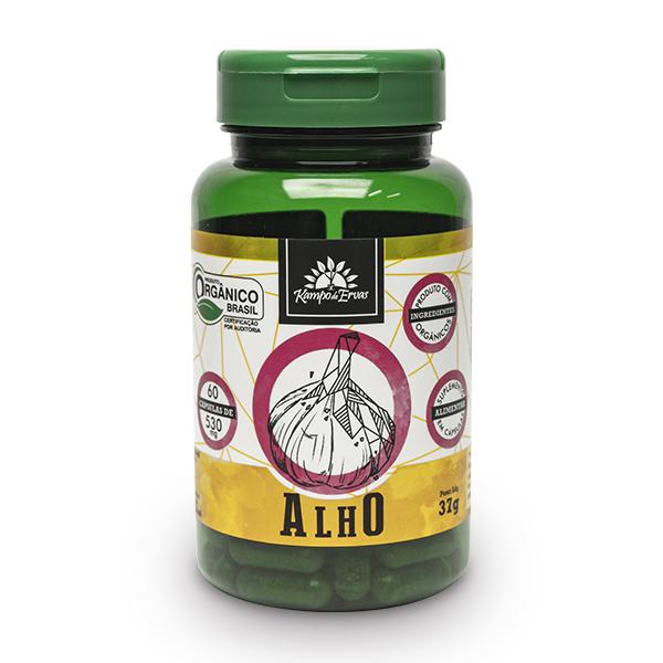 Cápsulas de Alho orgânico (60cps de 530mg)