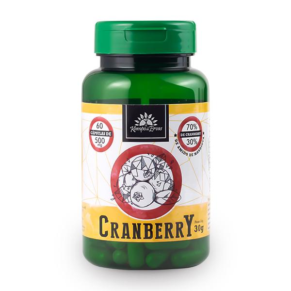 Cápsulas de Cranberry (60cps de 500mg)