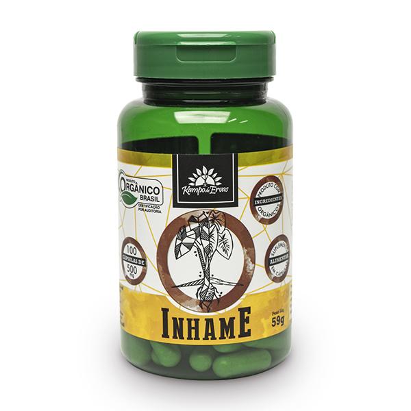 Cápsulas de Inhame orgânico (100cps de 500mg)