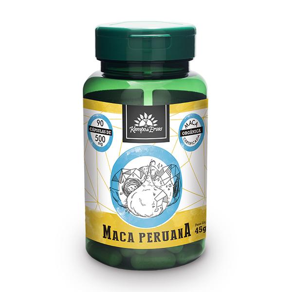 Cápsulas de Maca Peruana (90cps de 500mg)