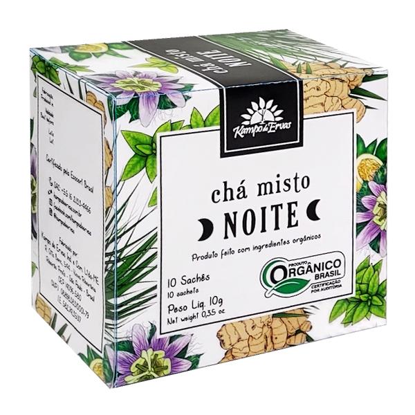 Chá Misto Noite orgânico sachê (10 unid.)