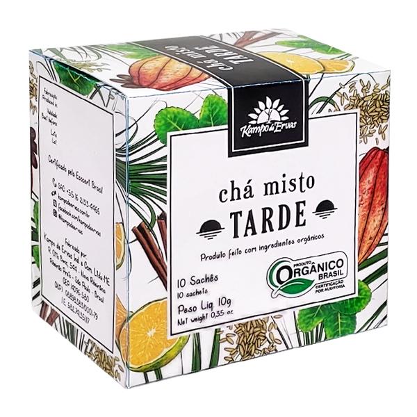 Chá Misto Tarde orgânico sachê (10 unid.)