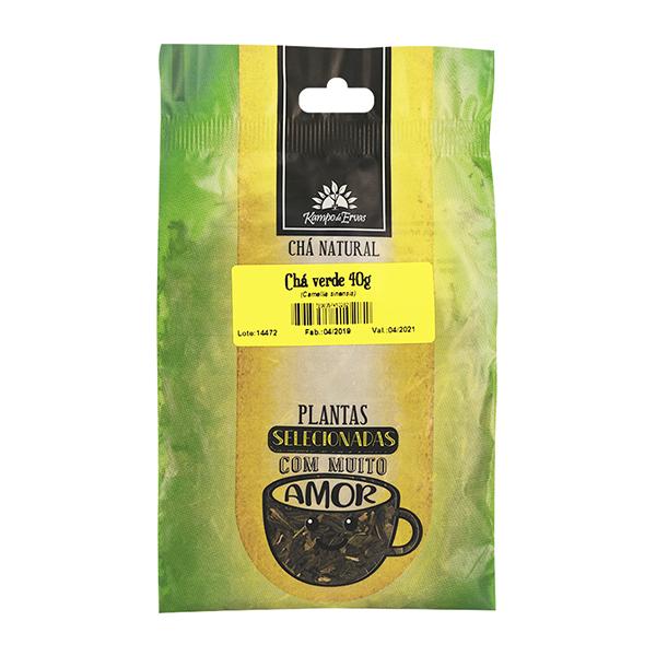 Chá Verde convencional 40g