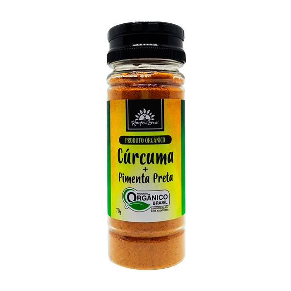 Cúrcuma com Pimenta Preta orgânica 70g