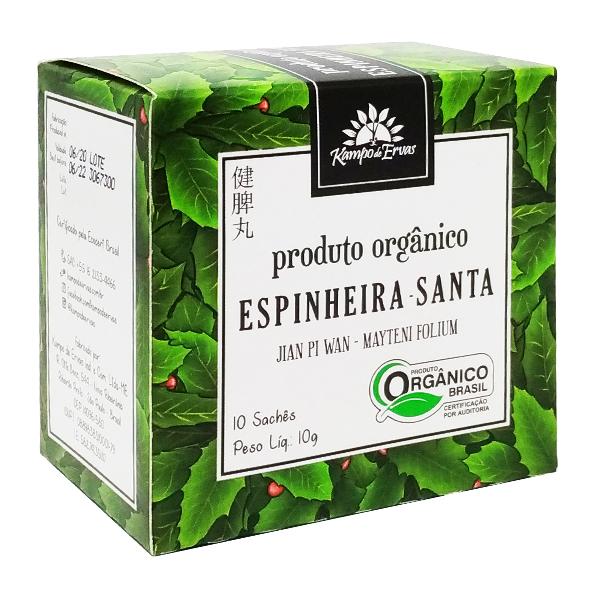 Espinheira Santa orgânica sachê (10 unid.)