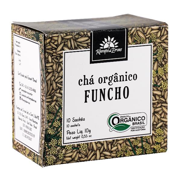 Funcho orgânico sachê (10 unid.)