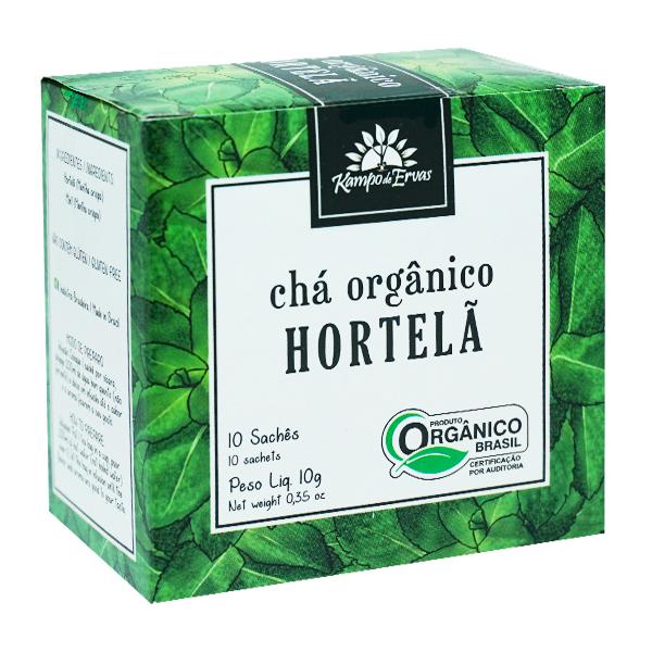Hortelã orgânica sachê (10 unid.)