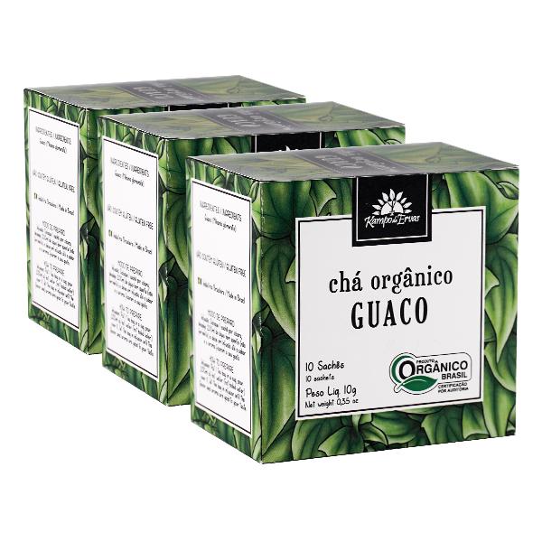 Kit 3cx – Guaco orgânico sachê (30 unid.)