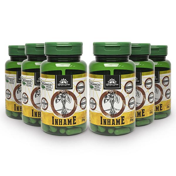 Kit Cápsulas de Inhame orgânico (6 potes)