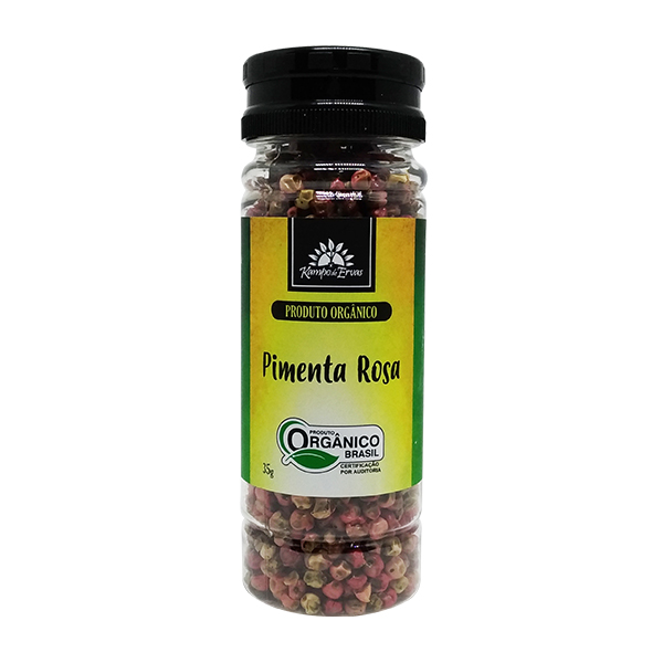 Pimenta Rosa (Aroeira) orgânica 35g