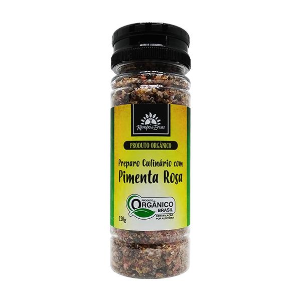 Sal Rosa do Himalaia com Pimenta Rosa orgânico 120g