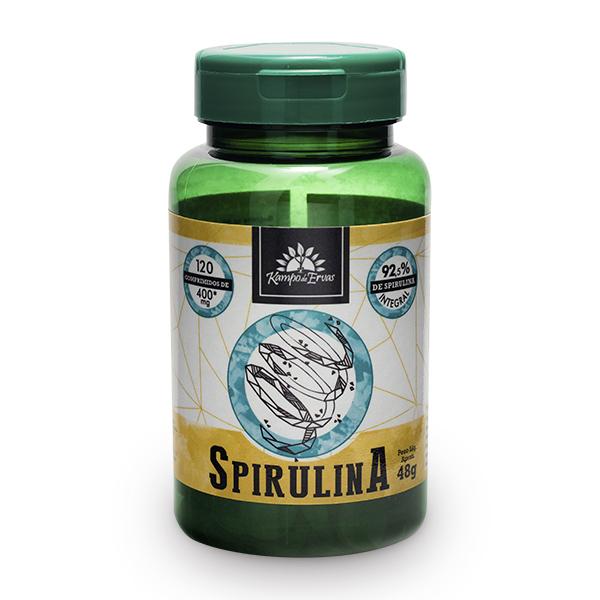 Spirulina (120 comp de 400mg)