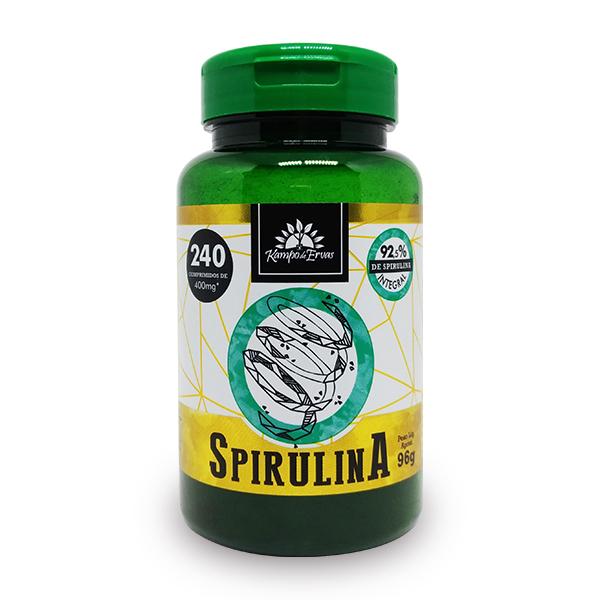 Spirulina (240 comp de 400mg)