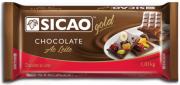 CHOCOLATE GOLD BARRA AO LEITE 1,01 KG