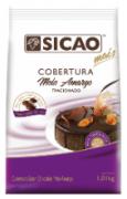 COBERTURA MAIS GOTAS MEIO AMARGO 1,01 KG