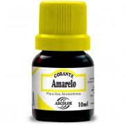 CORANTE LIQUIDO AMARELO 10ML